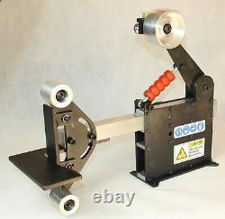 Belt Grinder 2x72 Combo-10 Contact Wheel-Small Wheels Set-No Motor-3xTool Arm
