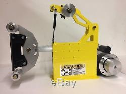 Belt Grinder 2x72 Complete Chassis, 2HP MOTOR/VFD, Small Wheel Set