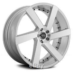 Blade BRVT-452 MADDOX Wheels 22x9.5 (25, 6x139.7, 78.1) Silver Rims Set of 4