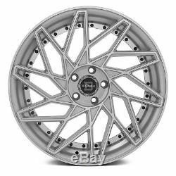 Blade BRVT-455 VENZO Wheels 22x9 (35, 5x114.3, 74.1) Silver Rims Set of 4