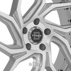 Blade BRVT-456 ENZO Wheels 22x9.5 (15, 5x114.3, 74.1) Silver Rims Set of 4