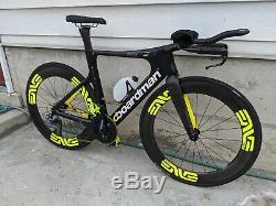 Boardman TTE 9.8 Triathlon Bike Size Small (51cm) Enve SES 7.8 Wheelset Di2