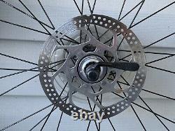 Bontrager Ranger MTB Rims Wheelset Shimano M495A Hubs SM-RT53 Discs 9 Speed