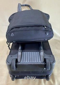 Briggs & Riley Black Carry On Set Small Tote & 21 Upright Exp Wheeled Suitcase