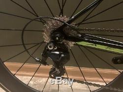 CANNONDALE Slice Triathlon Bike 51 (Small) Carbon Superteam Wheelset! Tri