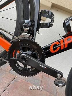 CIPOLLINI NK1K Blk/Ora (S) 11s Sram Red etap, Carbon Xentis Squad 4.2 Wheelset