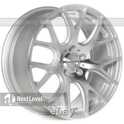 CIRCUIT PERFORMANCE CP31 18x8 5-114.3 +40 Machined Silver Wheels Rims (SET OF 4)