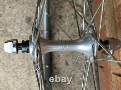 Campagnolo Small Flange Hubs, Mavic GP4 Rims Stainless, Wolber Tubs NEW UNUSED