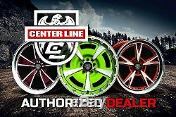 Center Line SM-2 Wheels 18x8 (40, 5x120.65, 74.1) Black Rims Set of 4
