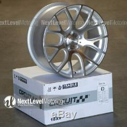 Circuit Performance CP31 18x9 5-114.3 +38 Silver Machined Wheels Rims (SET OF 4)