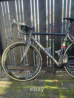 Colnago C60 Size 52s Campagnolo 11 Speed Bora One 50 Wheelset