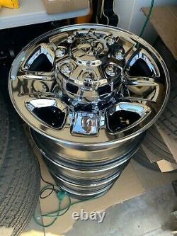 DODGE RAM 2500 3500 Factory Original OME 18 inch Chrome Wheels Rims Set of 4