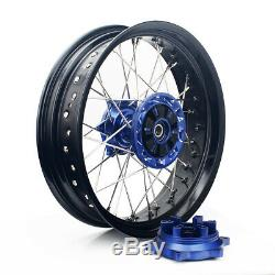 DRZ400SM 05-18 17 X 3.5 /4.25 Wheel Set for Suzuki DRZ400 00-04 DRZ400S DRZ400E