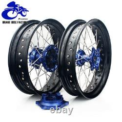 DRZ 400 SM 17 Supermoto Wheel Rim Hub Rotors Set Cush Drive DRZ400SM 2005-2020