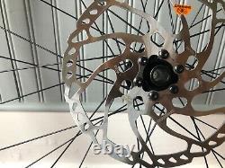 DT SWISS EX1700 Wheels with Shimano SM-RT66 rotors (203/180), Micro Spline 350