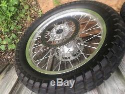 Drz400 S Wheel Set Drz400sm Enduro Supermoto Oem Tire Drz