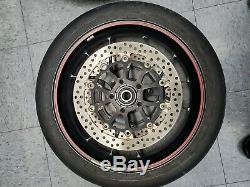 Ducati Marchesini Forged wheel set for Hypermotard, Multistrada, 848 small axle