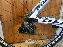 FUJI Norcom Straight 1.1 Ultegra Di2 11-Speed Reynolds Wheelset 49cm (SMALL)