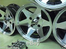 Ford Escort Capri Cortina 7x13 13x7 Starmag Alloy Wheel Set Jbw Starmags
