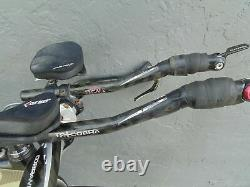 Fuji D6 Triathlon Road Bike Carbon Fiber Reynolds Strike Wheelset Sram Red Small