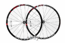 Fulcrum Racing 500 Wheelset Disc Centerlock Blk/Red 12mm F 142x12 Bolt-Thru Rear