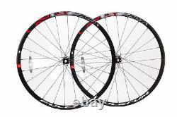Fulcrum Racing 500 Wheelset Disc Centerlock Blk/Red (CPO)