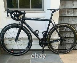 Guru Photon Bike with HED Jet 6+ Wheelset and Quarq power meter