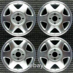Honda Accord Machined 15 OEM Wheel Set 1992 to 1993