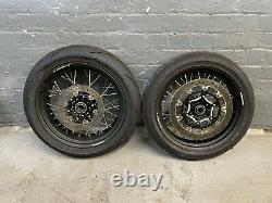 Husqvarna 701 SM Front & Rear wheels Set Excellent condition 2016 2021