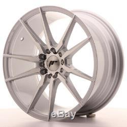 Japan Racing JR21 18x8,5 ET40 5x112 5x114 Silver SET 4 CERCHI 4 WHEELS