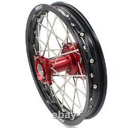 KKE 17/14 Kid's Small Wheels Rims Set Fit Honda CR80R 1993-2002 CR85R 2003-2008