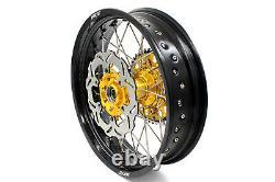 KKE 17 Complete Supermoto Motard Wheel Rim Set For Suzuki DRZ400SM 2005-2020
