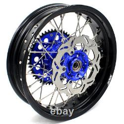KKE 17 Cush Drive Supermoto Motard Wheels Rims Set Fit DRZ400SM 2005-2020 Disc