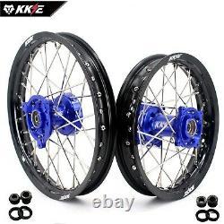 KKE 1.414/1.612 Kid's Small Wheels Rims Set Fit YAMAHA YZ65 2019 Mini Bike Hub