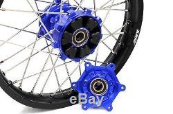 KKE 21/18 Cush Drive Enduro Wheels Set For SUZUKI DRZ400 DRZ400E 400S DRZ400SM