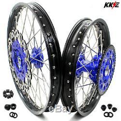 KKE 21/18 Enduro CUSH Drive Wheels Rims Set For SUZUKI DRZ400SM 2005-2019 310mm