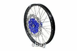 KKE 21/18 Enduro CUSH Drive Wheels Rims Set For SUZUKI DRZ400SM 2005-2020 310mm