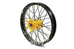 KKE 21/18 Enduro Wheel Rim Set For Suzuki DRZ400 DRZ400S DRZ400 DRZ400SM 2005-20