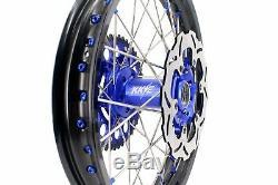 KKE 21/18 Enduro Wheels Rims Set For SUZUKI DRZ400SM 2005-2019 Disc Rotor 310mm