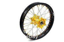 KKE 21/18 Enduro Wheels Set For SUZUKI DRZ400S DRZ400SM DRZ400E DRZ400 DRZ400S