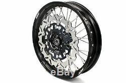 KKE 3.5/4.2517 SUZUKI DRZ400SM 2005-2019 Complete Supermoto Wheels Rims Set