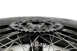 KKE 3.5/4.25 CST Tire Fit SUZUKI DRZ400SM 2005-2019 Supermoto Wheels Rims Set