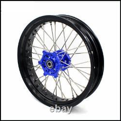 KKE 3.5/4.25 Supermoto Cush Drive Wheels Set For SUZUKI DRZ400S 400SM 400 400E