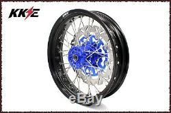 KKE 3.5/4.25 Supermoto Motard Wheel Set For SUZUKI DRZ400SM 2005-2019 310MM Disc