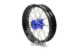 KKE 3.5/4.25 Supermoto Wheels Set For SUZUKI DRZ400 DRZ400S DRZ400E DRZ400SM