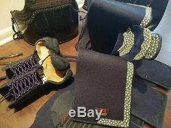 Kendo Deluxe Bogu Complete Set with 2mm Men & wheels bag Beautiful Set $950 e-mudo