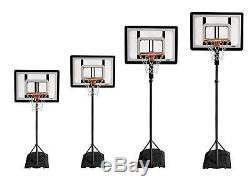 Kid Adjustable Basket Ball Hoop System Portable Small Play Net Set Sports Wheels