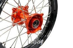 Kke 17 14 Kid's Small Wheel Rim Set Fit Dirt Bike Sx 85 2003-2020 Tc 85 2014