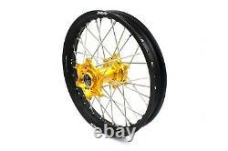 Kke 21 18 Enduro Wheel Rim Set Fit Suzuki Drz400 Drz400e Drz400s Drz400sm Gold
