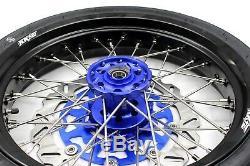 Kke 3.5/4.2517 Supermoto Wheel Set Fit Suzuki Rim Drz400sm 05-2018 310mm Disc